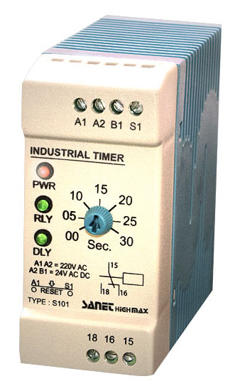رله الکترونیکی تایمر صنعتی صانت الکترونیک